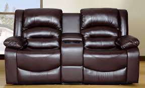 Black Leather Reclining Loveseat Recliners Chairs U0026 Sofa Black Leather Reclining Sofa With Seater