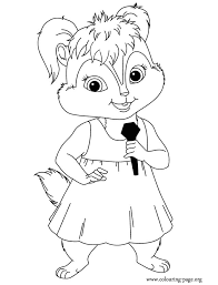 alvin chipmunks coloring pages getcoloringpages