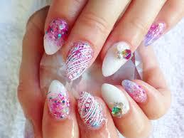 girly acrylic nails u2013 slybury com