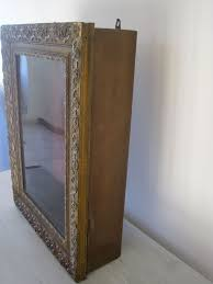 Wall Mounted Curio Cabinet Thank You Reserved For Jm Antique French Wall Hanging Vitrine