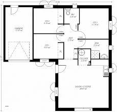 plan maison contemporaine plain pied 3 chambres plan maison plain pied 3 chambres 1 bureau luxury plan maison 80m2