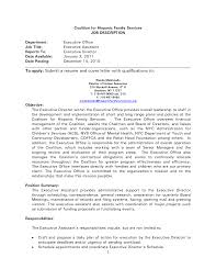 Cover Letter For Front Desk Position Administrative Position Cover Letter Cover Letter For