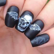 100 black and white halloween nails 5 halloween nail art