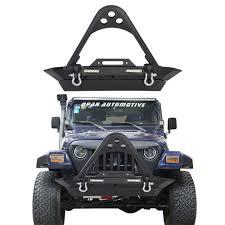 jeep rubicon winch bumper tj winch plate car u0026 truck parts ebay