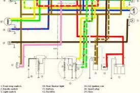 1977 yamaha et 250 wiring diagram free 1977 wiring diagrams