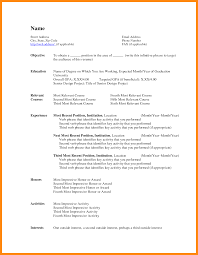 resume format in word doc 7 resume format for word manager resume