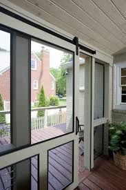 screened porch cable railing
