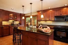 island kitchen island lighting with pot rack