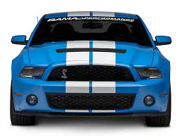 shelby v6 mustang shelby mustang gt500 front end conversion unpainted w712919 s900