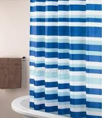 The Latest In Shower Curtain Mainstays Blue Stripe Peva Shower Curtain Caleb U0027s Apartment