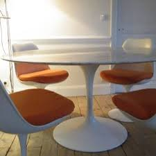 Tulip Table And Chairs Furniture Cool Saarinen Table For Dining Table Ideas