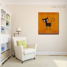 100 hand painted cute animal modern decorative painting home