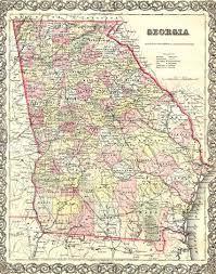 Map Of Tennessee And Georgia by Some Georgia Early Maps
