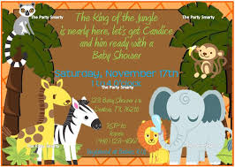 jungle baby shower ideas classic jungle theme baby shower invitations horsh beirut