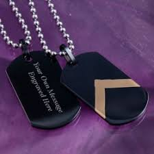 Personalized Dog Tags For Men Mens Personalised Dog Tags Maxshock