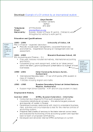 Resume For University Job by 8 How To Write A Cv For College Student Applicationsformat Info