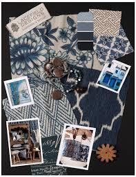 lacefield designs indigo textile moodboard www lacefielddesigns