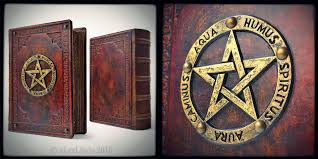 leather bound photo book large leather bound book of shadows by alexlibris999 on deviantart