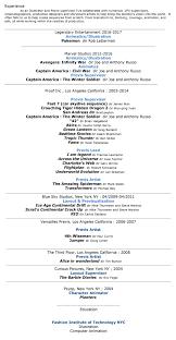 Vfx Jobs Resume by About Resume U2014 Meg Story Arts