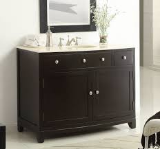 46 Bathroom Vanity Adelina 46 Inch Espresso Finish Bathroom Vanity Nature