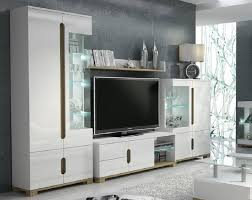 lotos modern wall unit tv stand white high gloss best tv