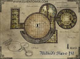 map 41 u2013 illithid u0027s slave pit kelly u0027s heroes tabletop