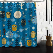 Owl Fabric Shower Curtain Popular 48 Shower Curtain Buy Cheap 48 Shower Curtain Lots From