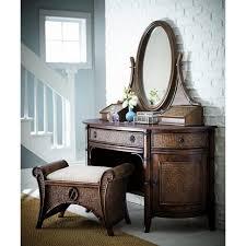 bedding podington vanity set with mirror exotic looking rattan