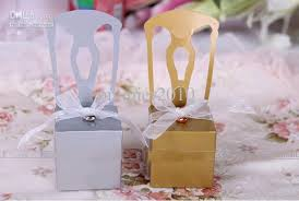 personalized wedding favors cheap wholesale wedding favor box diy personalized chair candy box
