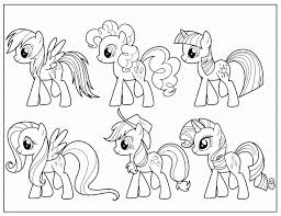 easy preschool printable pony friendship