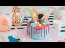 vídeo receta drip cake de limón y coco drip cakes cake and food