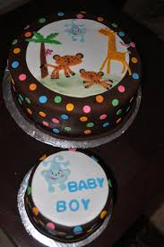 animal theme baby shower cake cakecentral com