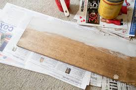 Make All From Wood How To Make A Farmhouse Shelf From Thrifted Wood Corbels Little