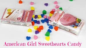 sweethearts candy diy american girl doll sweethearts candy