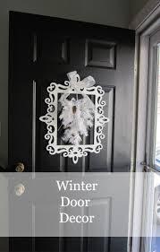 Winter Front Door Decorations handballtunisie