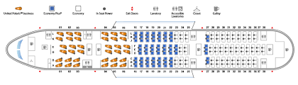 American Airlines Floor Plan Boeing 787 8 Dreamliner United Airlines