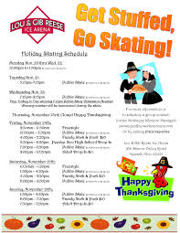 newark arena thanksgiving week hours