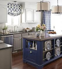 design inspiration blue in the kitchen designshuffle blog