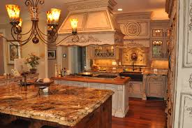 French Country Kitchen Furniture by French Country Inspired Rococo Kitchen Cabinets By Graber