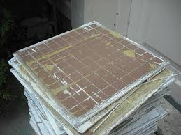 neighbor u0027s kitchen tile installed with liquid nails ceramic