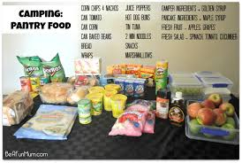 camping food preparing transporting u0026 storing food for a long