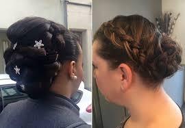 chignon mariage coiffure mariage et coiffure evenementielle près de oignies