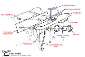 c2 corvette parts c2 corvette outside door handle parts parts accessories for