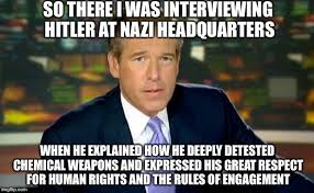 Memes Explained - brian williams was there meme imgflip