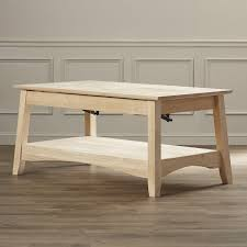 Bombay Coffee Table International Concepts Unfinished Wood Bombay Coffee Table With