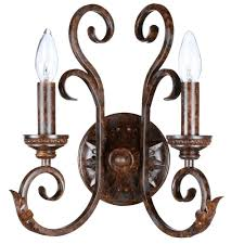 Battery Wall Sconce Lighting Bronze Sconces Bathroom Lighting The Home Depot Battery Powered