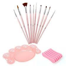 amazon com bmc 12 pc nail art beauty design polish brush dotting