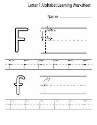 free printable letter f worksheets for kindergarten preschool