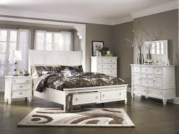 prentice sleigh storage footboard bedroom set