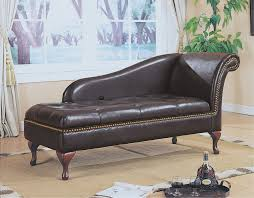 Leather Chaise Lounge Brown Leather Chaise Lounge Home Design And Decorating Ideas